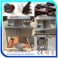 3x8L Bench-Top small mini Chocolate melting /Tempering/Molding making machine