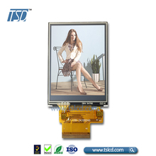 Supplier 2.4 inch qvga tft lcd display 240X320 MCU interface with resistive touch for handheld equipment