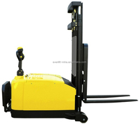 1.6T Counterbalance Electric Stacker Powered pallet stacker Reach pallet stacker counterbalance battery lifter forklift truck