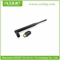 Hot usb driver lan network card for windows xp and 150mbps 5dbi antenna