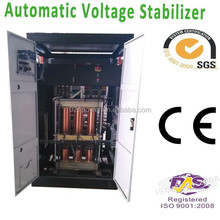 300KVA 3 cabinets large power voltage regulator for equipment power stabilize.
