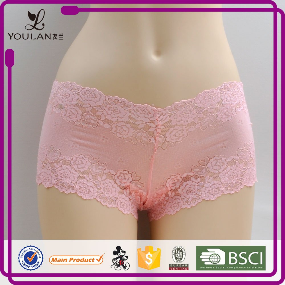 OEM Supplier Sweet Young Girl Transparent ladies panty