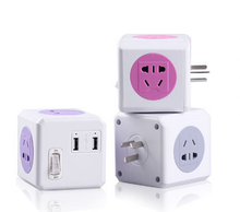 High Quality Multiple Outlets Universal Power Strip Protector Extension USB Socket