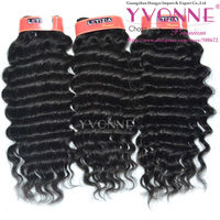Grade aaaa deep wave 100% human indian brazilian hair