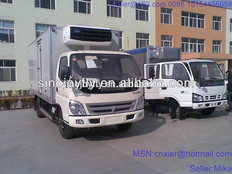 insulated pick up body snack truck for sale parcel devivery van/truck courier van/truck lng tanker semi trailer