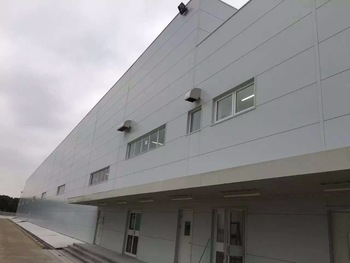 shanghai hanyao long life r-value insulation color steel polyurethane sandwich panel