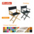Factory high quality wooden director chair, folding director chair with replacement canvas cover