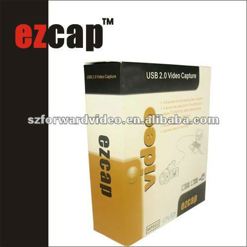 USB 2.0 Video Capture Adapter for win7 win8 win10 ezcap116