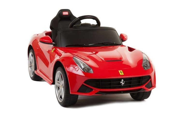 81900-Electric Children's Battery Powered Under Licensed Ride On Car with (Red) RC Remote Control Radio Car