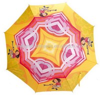 Promotional fashion cow printing umbrella