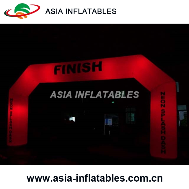 Blow Up Inflatable LED Arch/Inflatable Balloon Entrance Arch For Wedding/Party
