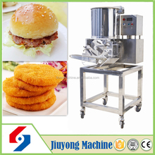 stainless steel commercial automatic meat pie burger maker machine