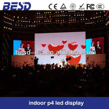 Stage background Full color SMD advertising P6 indoor led stage screen/stage background image led video screen