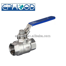 2PC WCB Screwed end 1000WOG Thread Ball Valve