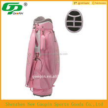 Wholesale customized pink golf bag