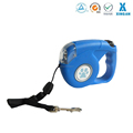 XA-1133 customs print logo/lighted pet accesories retractable dog collar and leash