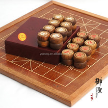Wooden Chinese Chess Set and Go Game Set with Wooden Inlaid