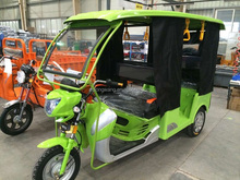 Hot sale 6 passengers bajaj three wheeler price /1000W battery powered 3 wheel Tuk electric tricycle India Nepal Bangladesh