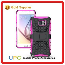 [UPO] Heavy Duty Rugged Armor Holster Combo Phone Case with Kickstand for Samsung Galaxy Note 5