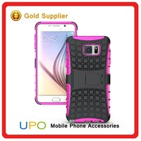 [UPO] Hybrid Heavy Duty Rugged Armor Holster Combo Case with Kickstand for Samsung Galaxy Note 5