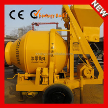 Factory direct sell JZC350 portable self loading foam concrete mixer