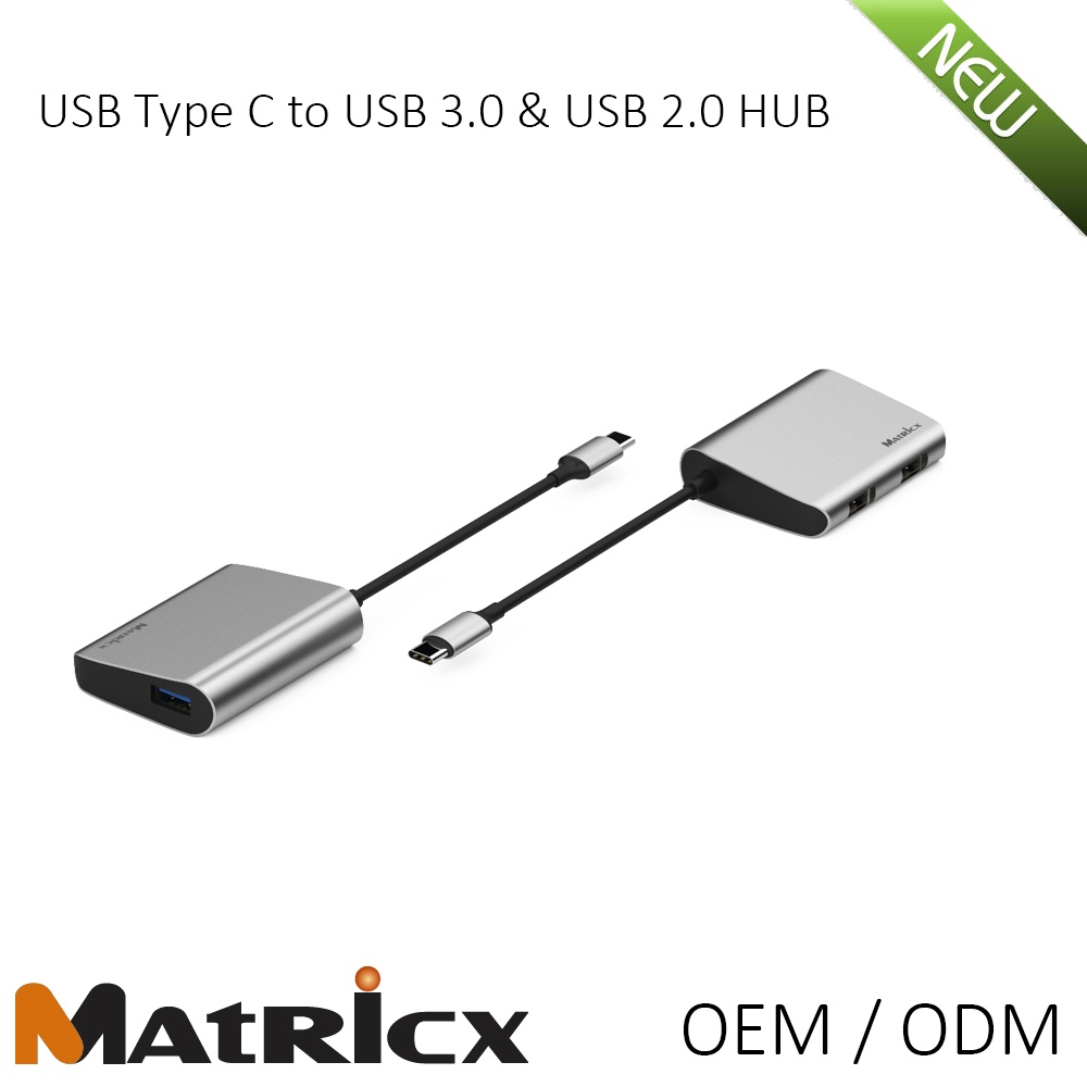USB 3.1 Type C to USB 3.0&USB 2.0 HUB Special Design for bluetooth keyboards and mouse for Mac computer