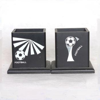 Custom Design Pen Holder And Bookends With Custom Logo
