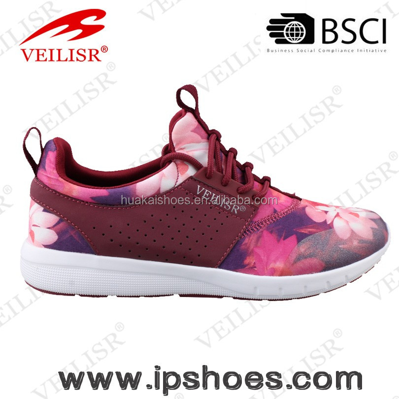 new fashion high quality customized lady shoe casual shoe sport shoe 2016