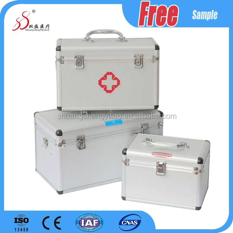 Factory direct medical portable first aid kit box for car