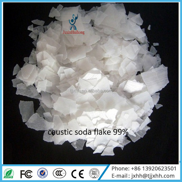 CSF NAOH 99% Caustic Soda Flake Chemical Industry