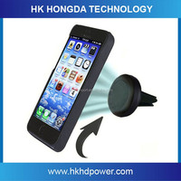 Sticky gel mobile phone universal use car air vent magnetic car mount holder for iphone 6s