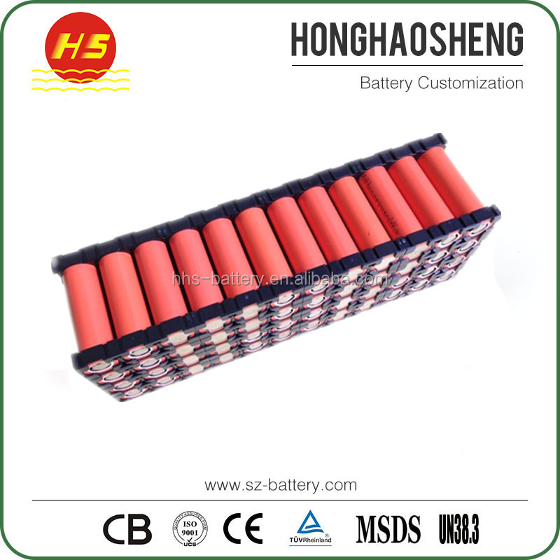 Hot sale 6S8P 18650 24 volt li ion battery pack 24v 20ah for electric vehicle with large Capacity