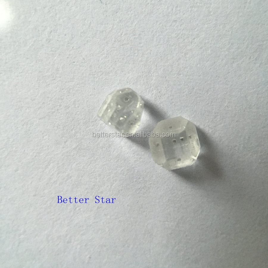 Large Size White Rough HPHT/ CVD Synthetic Diamond