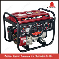 ZheJiang LingBen Machinery 2-5kw Portable Air Cooled Power Good Enginer Gasoline Generator Cheap Price Good Quality