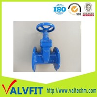 Ductile iron BS5163 Sluice gate valve