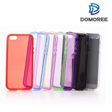 Hot sales transparent and clear protector mobile phone case for iphone5