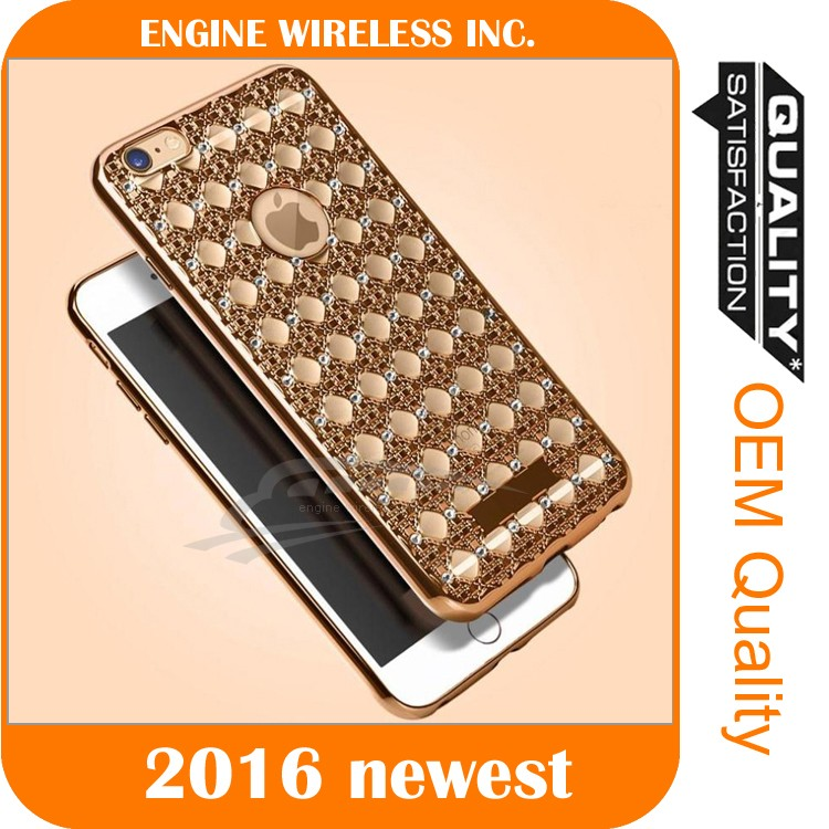 wholesale cell phone bling case for iphone 5s 4s 6, for iphone case