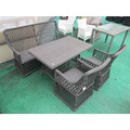 OUTDOOR FURNITURE DINING TABLE AND CHAIR CAFE SHOP USED