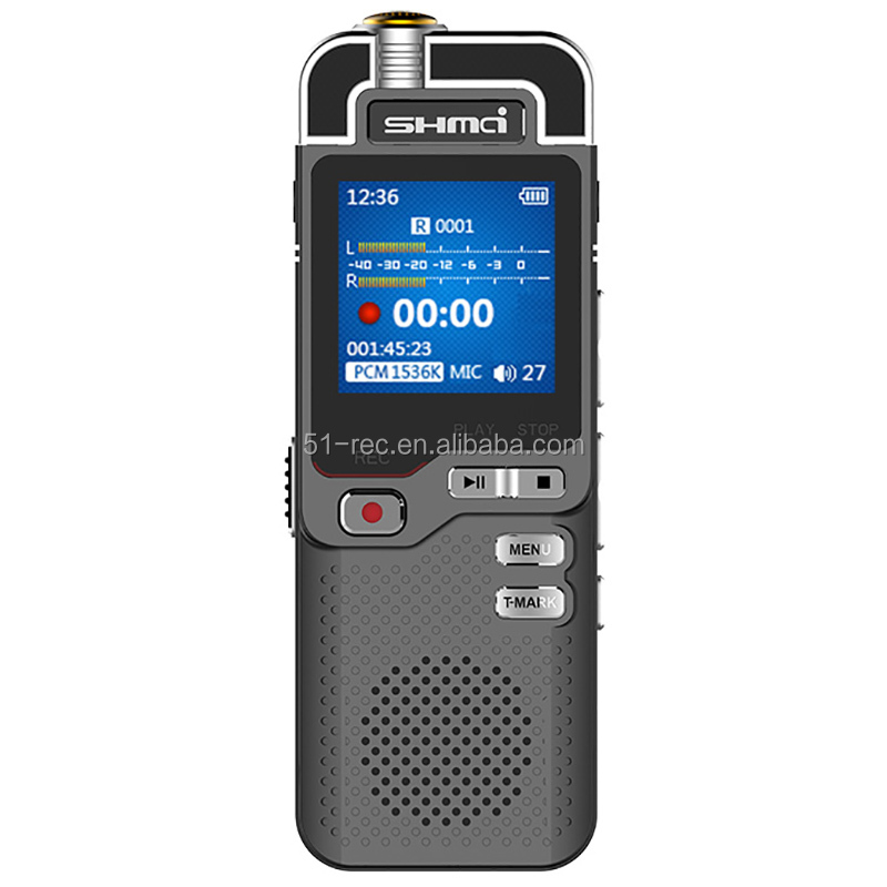 High definition and clarity recording digital voice recorder