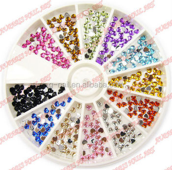 R-107 Nail Art ,2014 Hot Sell nail art;crystal stones,Professional Nail Beauty,Nail Rhinestones