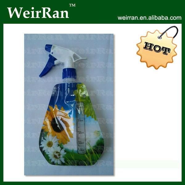 (2701) water cute plastic foldable bottle tigger sprayers
