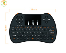 Mini Wireless Li Battery Air Fly Mouse H9 2.4G Wireless Keyboard With Touchpad