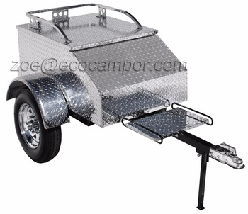 Enclosed Aluminum Cargo Trailer for Motorcycle for Sale