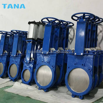 ANSI pneumatic Non-rising stem wafer knife gate valve