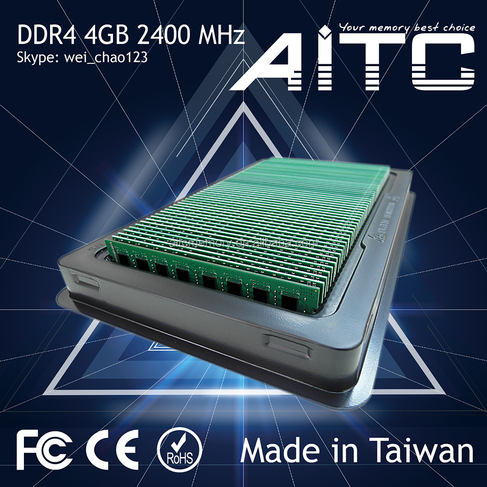 Best selling AITC DDR4 8gb 2400MHz ram for pc Memory module