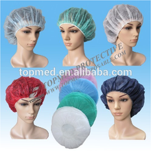 Disposable corlorful and decorative hair net