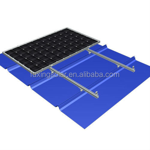 MR-VI 08 Standing Seam 11 Metal Roof Solar Racking Solution