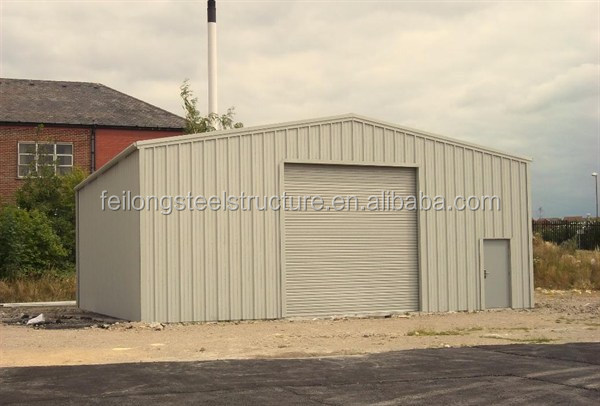 steel structural cow shed and poultry house design