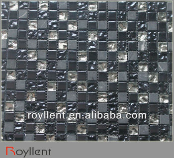 2014 new trend glass mosaic tiles