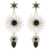 Fashion New Model Earrings Rhinestone Crystal Pendant Earring For Women